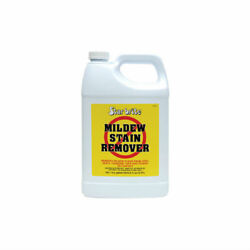 Star Brite Mildew Stain Remover Boat Marine Vinyl Covers Upholstery Gallon 85600
