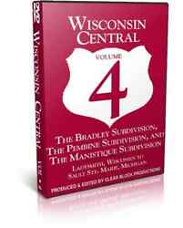 Wisconsin Central, Part 4, Ladysmith To Sault Ste. Marie - Clear Block Train Dvd