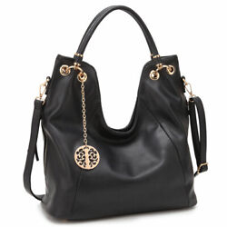 New Womens Handbags Soft Faux Leather Hobo Bags Shoulder Bag Large Purse $36.99