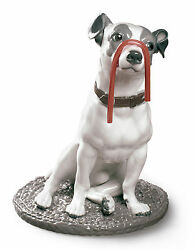 LLADRO Porcelain : JACK RUSSELL WITH LICORICE  01009192 Size: 34x27 cm