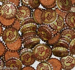 Soda Pop Bottle Caps Lot Of 25 Sun Rise Root Beer 2 Cork Lined New Old Stock