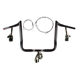 1 1/4 Bblack 13 Primeape Prewired Kit 2008-2013 Harley Electra Glide Abs Cruis
