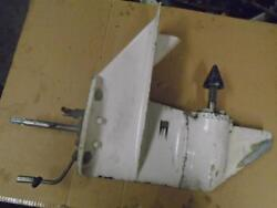 2 Piece Lower Unit I Believe 9.9 To 15hp Chrysler Outboard