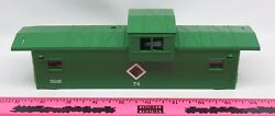 Lionel Shell 74 Chicago And Illinois Midland Caboose Shell With Windows