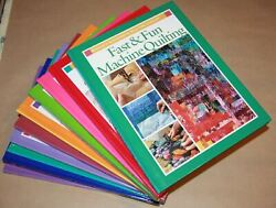 Bulk Lot Of 10 Rodaleand039s Successful Quilting Library Hardcover Books Sewing