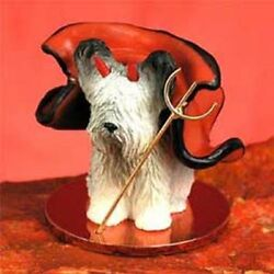 Skye Terrier Devil Dog Tiny One Figurine Statue