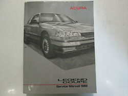 1988 Acura Legend Coupe Service Repair Shop Manual FACTORY OEM BOOK USED x