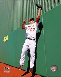 Mike Trout La Angels Licensed Un-signed Picture Poster Pic Image 8x10 Photo