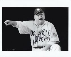 Wilford Brimley Signed Autographed The Natural Pop Fisher Photo