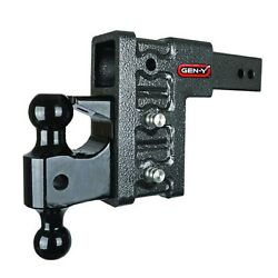 Gen-y Hitch Gh-627 Pintle/dual Ball Compatible 21k Drop Hitch And Stabilizer Kit