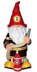 Fireman Fire Fighter Thematic Garden Yard Gnome Office New 11 - Great Gift