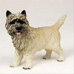 CAIRN TERRIER Red Dog Hand Painted Canine Collectable Figurine Statue