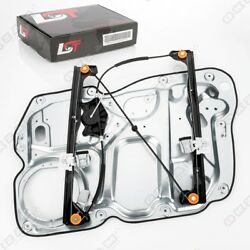 Complete Window Regulator With Metal Plate Front Left For Vw Touran