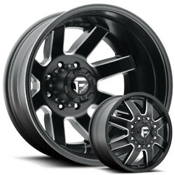 Fuel Maverick 22x8.25 Dually Wheels & Tires Ford Chevy Dodge  Direct Bolt 8 Lug