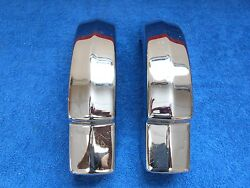 1952-53 Mercury Front Bumper Guards Pair Nos Ford 916