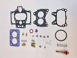 Carter Wcd 2bbl Carburetor Kit 1954-1956 Willys Jeep 226 Engines 2052s 2204s