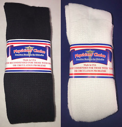Physicianand039s Choice Over The Calf Diabetic Crew Socks 3-6-12 Pairs 10-13/13-15