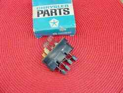 1964 65 66 67 68 69 Nos Mopar A/c Switch Hang On Air Only Cuda Charger Dart
