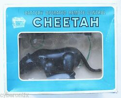 Sears 1960s Wish Book Toy CHEETAH Black Panther Remote Control Big Box IN BOX