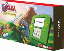 Nintendo 2ds System Zelda Ocarina Of Time - Link Edition [2ds 3ds Console] New