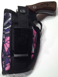 Muddy Girl Gun Holster fits Smith & Wesson 38 Special 5 Shot Revolver Snub Nose