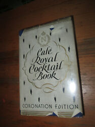 William Tarling The Cafe Royal Cocktail Book 1st Edition In Jacket Mixology