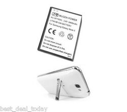 Mugen 6400mah Extended Battery For Samsung Galaxy Note 2 Ii I605 Verizon White