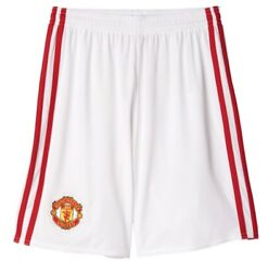 Manchester United FC Official Gift Boys Home Kit Shorts 15-16 Years