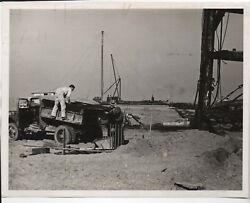 Large Pre 1939 Ggie World's Fair Photo Of Ground Construction 9