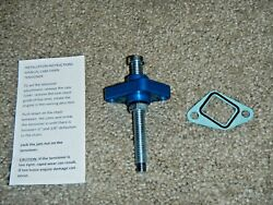 Blue Timing Cam Chain Tensioner Manual Adjuster Cct Grizzly Breeze 125 Yfm125