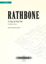 A Day At The Fair Satb And Piano Jonathan Rathbone Book Only Ep72719