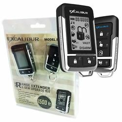 Complete Plug And Play 2 Way Lcd + Add On Remote Start Kit Select 2011-2015 Ford