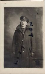 Ww1 Soldier Private Welsh Regiment In Greatcoat