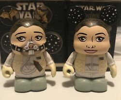 New Star Wars Vinylmation Eachez Series 7 Princess Leia Hoth Variant And Common