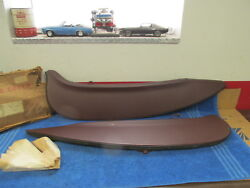 1960 Ford Fairlane And Galaxie Rear Wheel Fender Skirts Pair Nos Ford 118
