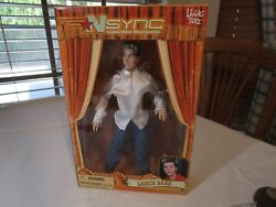 N Sync Collectible Marionette Figure Lance Bass Living Toyz Doll 2000 Puppet Box