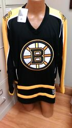 Nhl Boston Bruins Long Sleeve Jersey Mens Sizes Xs-2xl Brand New With Tags