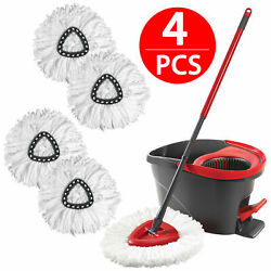 Replacement Heads Easy Cleaning Mopping Wring Spin Mop Refill Mop O Cedar 360°