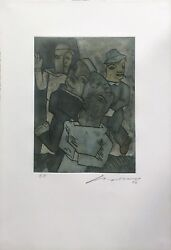 Jose Luis Cuevas Unknown Title 1999 | Rare Signed Etching | Make An Offer