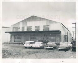 1955 Press Photo North Coast Chemical And Soap Works Plant 1950s Seattle