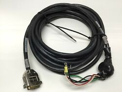 Aerotech 630c1789 Rev A Pmchpd-25 Brushless Servo Motor Power Cable 25ft