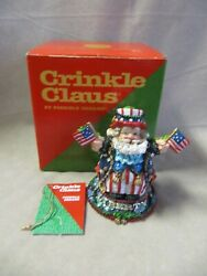 Possible Dreams Crinkle Claus Firecracker Crinkle 659047 Excellent In Box