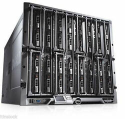 Dell PowerEdge M1000E Blade Enclosure with 16 x M600 3.33GHz 4core Blade Servers
