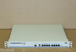 Crossbeam C6 Security Network Switch C6-8c-2 Rackmounted Security Appliance