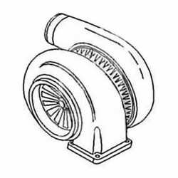 Turbocharger Compatible With John Deere 5200 7520 5400 6030 Sm180729