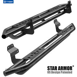 Tyger Star Armor Side Step Nerf Bars Fit 15-21 F150 And 17-21 F250/f350 Super Cab