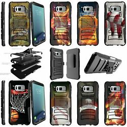 For Samsung Galaxy S8 Plus Rugged Dual Layer Stand Holster Case Sports And Galaxy