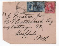 1890 Us Cover With 10 Cent Special Delivery Stamp