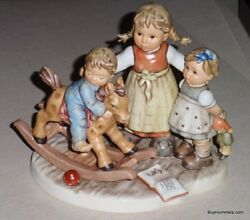 Learning To Share Goebel Hummel Figurine 2250 Moments In Time Series - Mib