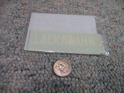 Walthers Decals O Gauge Freight 48-33a Dl And W Lackawanna Hopper White  E127